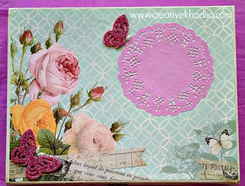 box decoupage ideas with mod podge