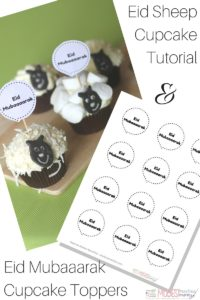 eid sheep cupcake yummy ideas