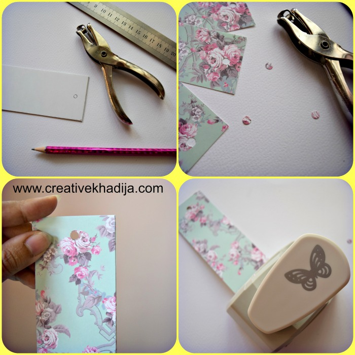 How to make handmade butterfly bookmarks paper crafts