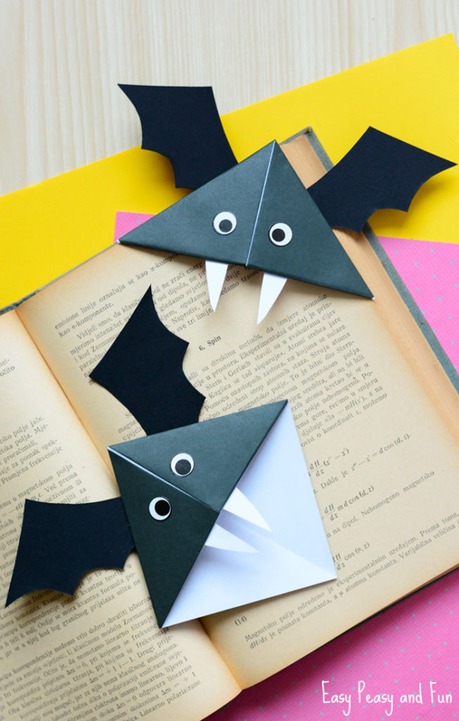 fall and halloween bat ideas for kids