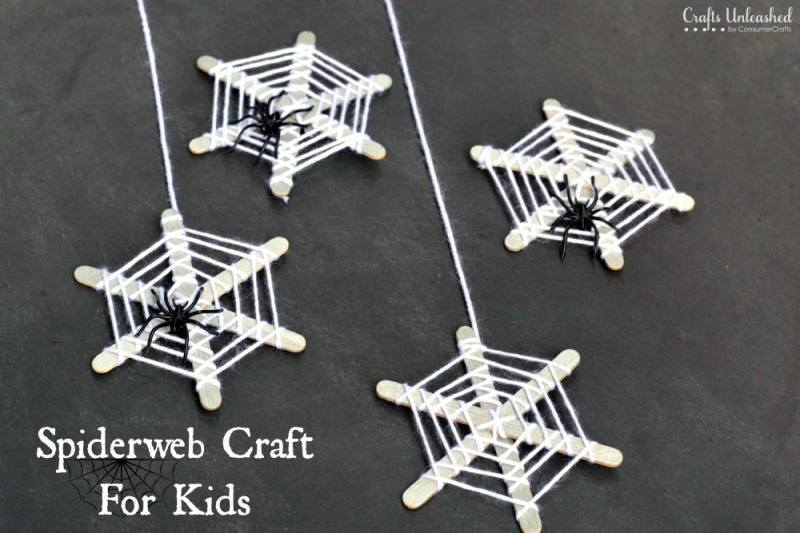 fall and halloween ideas spider for kids