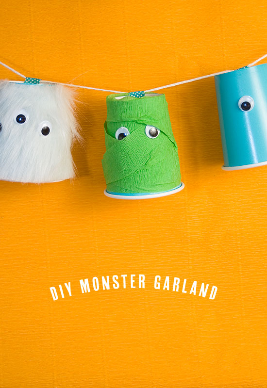 halloween-monster-garland
