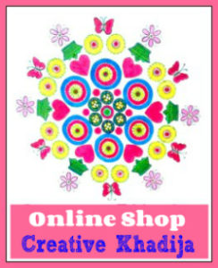 buy arts and crafts online from creative khadija shop
