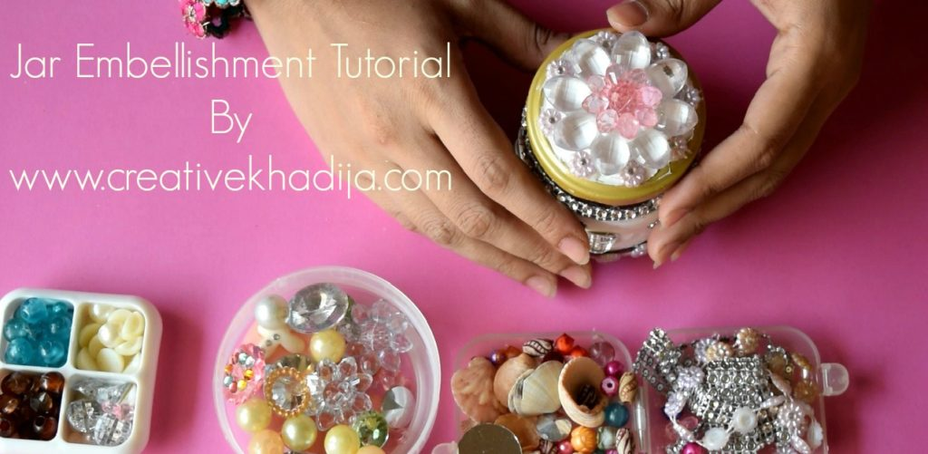how to decorate a food jar and make a gift jar