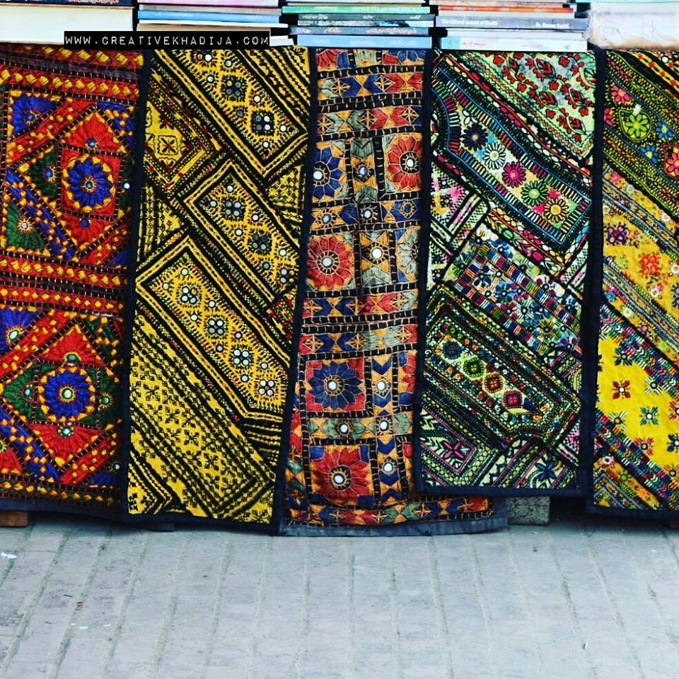 Pakistani handicrafts at lok virsa islamabad