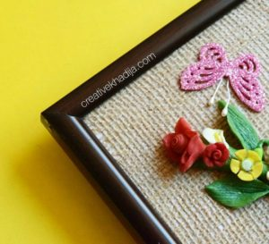 spring inspired floral wall art and dough crafts by creative khadija blog