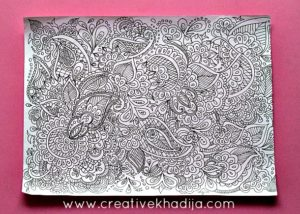 creative henna designs coloring book patterns for sale