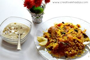 chicken biryani and kheer. food blogger and reviewer from islamabad. Creative khadija food photography Nikon D5300