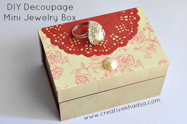 DIY Jewelry Storage Box And Organizer Making Idea