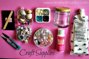 How To Decorate Mini Glass Jar-Part Two