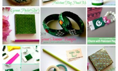 pakistan independence day school crafts and fashion accessories making ideas