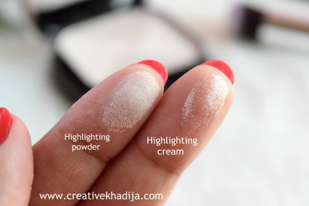 MUA Luxe Strob & Glow Highlight Kit Review swatches & product photography by Creative Khadija blogger