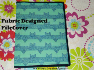 Fabric Designed FileCover