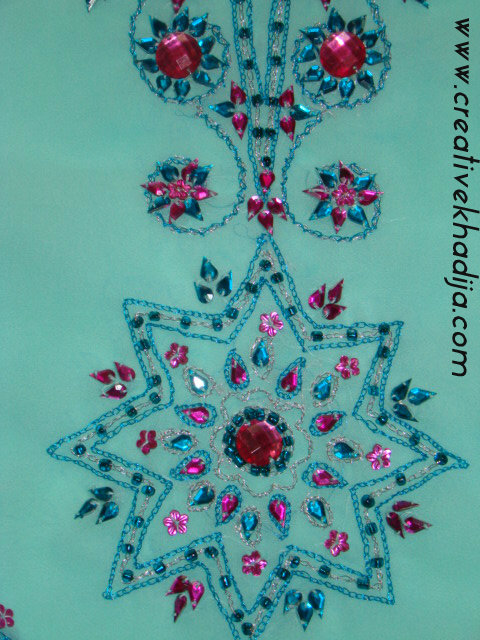 hand embroidery zardozi work
