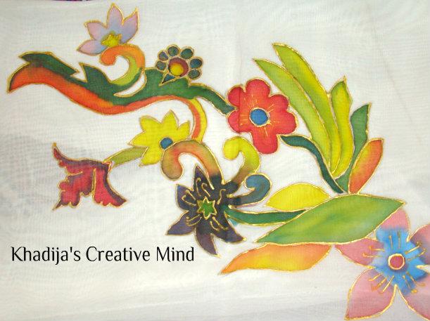 Silk Painting & designing