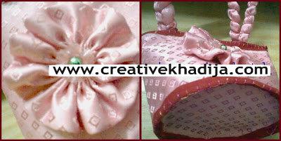 handmade pink bag for baby girl