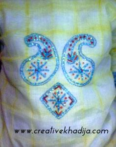 hand embroidery zardozi work