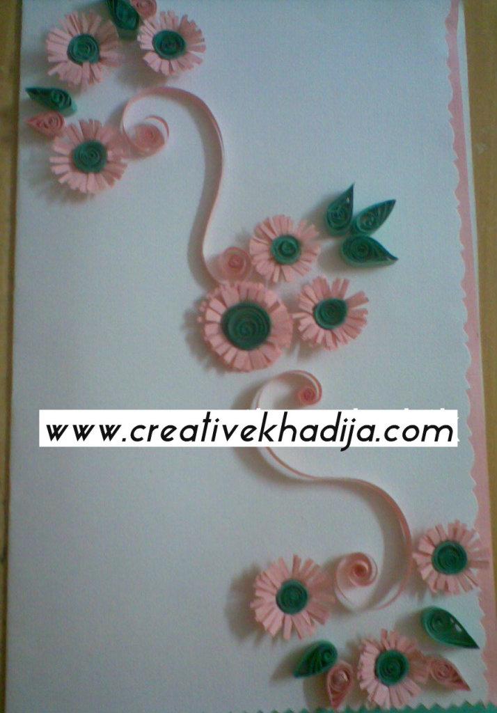 paper quilling cards tutorials