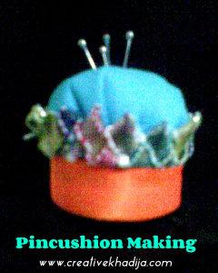 pincushion making tutorial