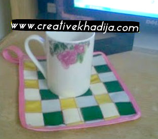 tea cup mat making