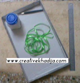 accessory hanger making DIY