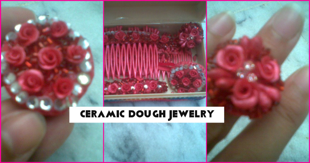 ceramic dough jewelry making