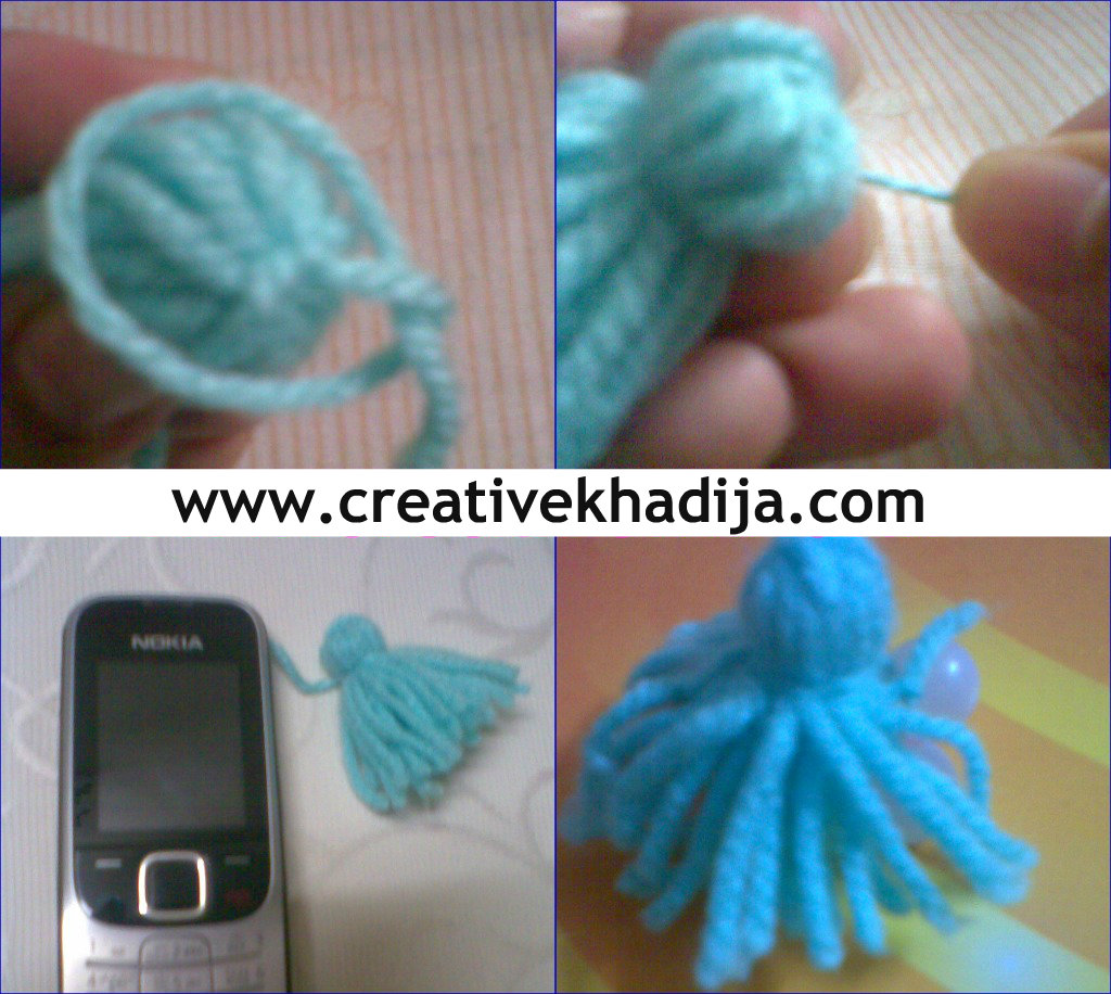 wool pom pom making crafts