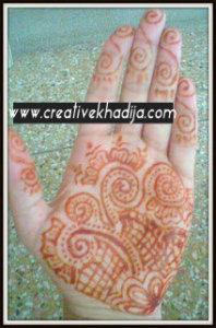 henna tattoo mehndi design
