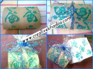Stamping ideas gift packing