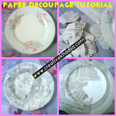 paper decoupage tutorial