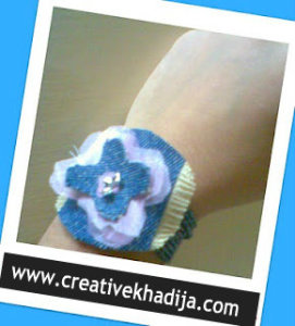 jeans Bracelet making ideas