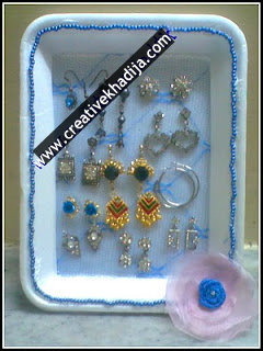 jewelry organizer tutorial
