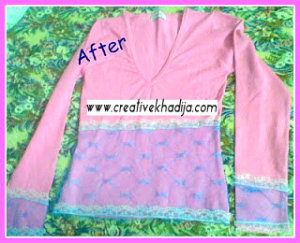 shirt refashion DIY ideas