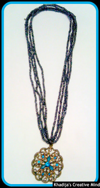 DIY Necklace & Resin Flower
