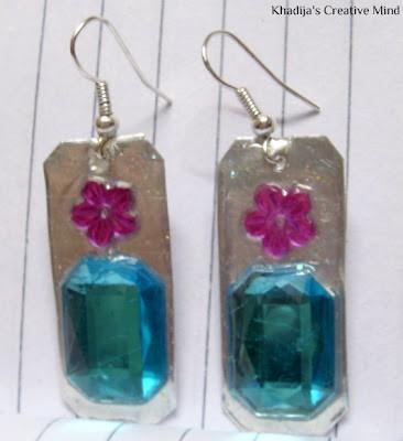 DIY Turquoise Earrings