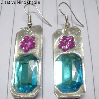 DIY Turquoise Earrings