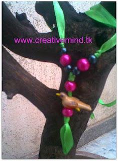 Spring Necklace Tutorial