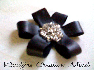 DIY Leather Flower