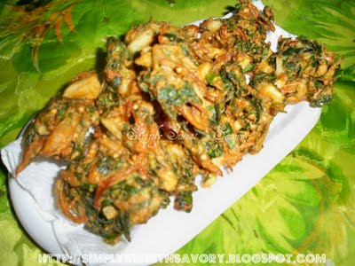 Recipe Spinach Pakoray