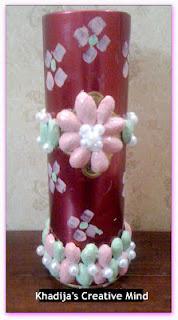 Pistachio shell Vase