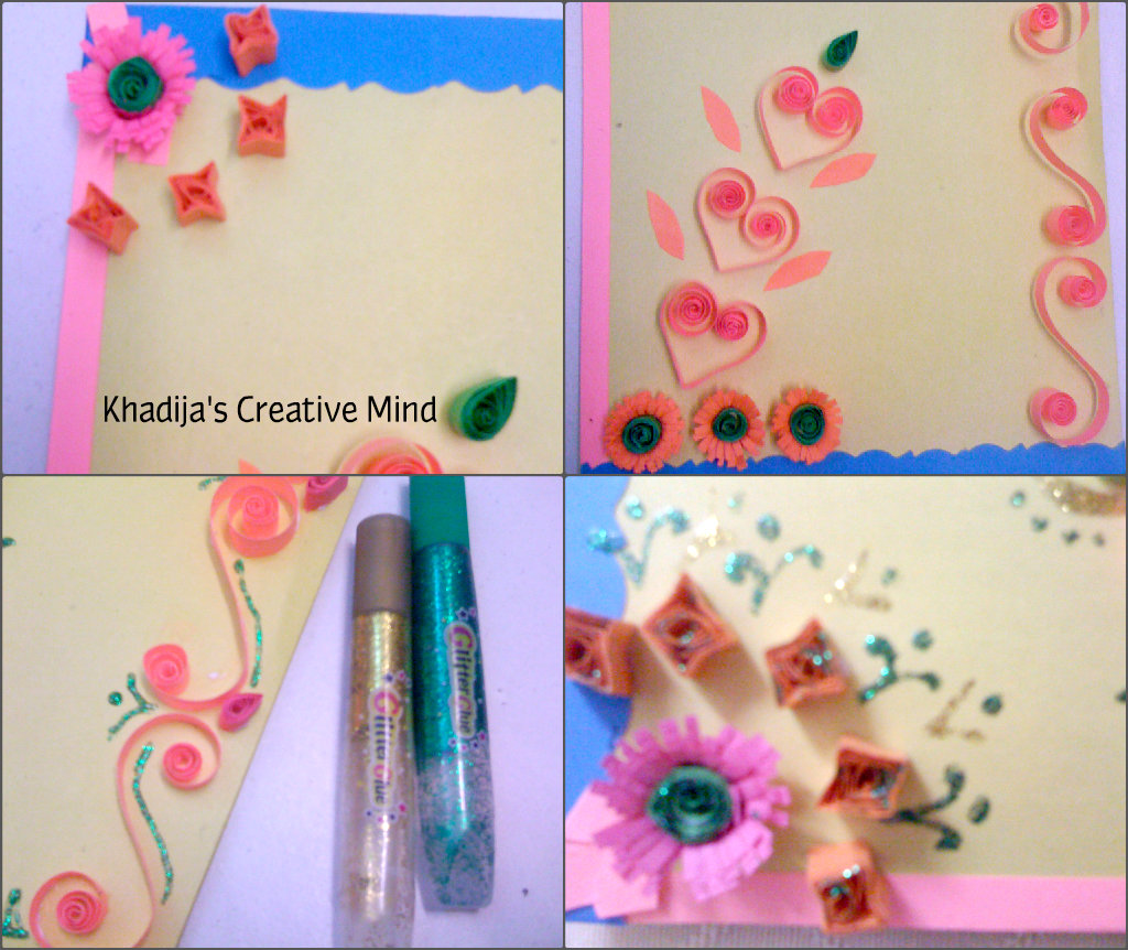 Mother's Day Quilling Card