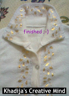 Sweater refashion DIY