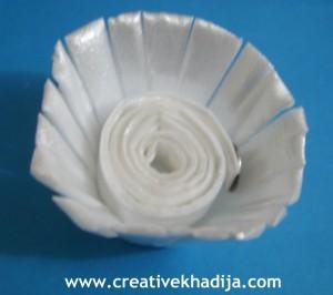 Egg Carton Flowers-Recycling