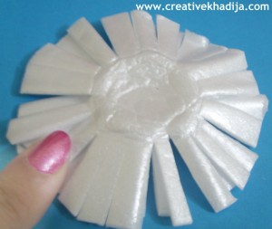 Styrofoam Flowers
