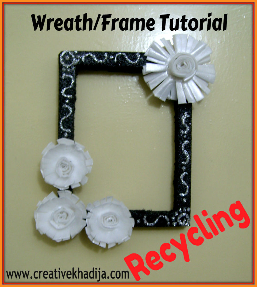 how to arrange flowers on frame