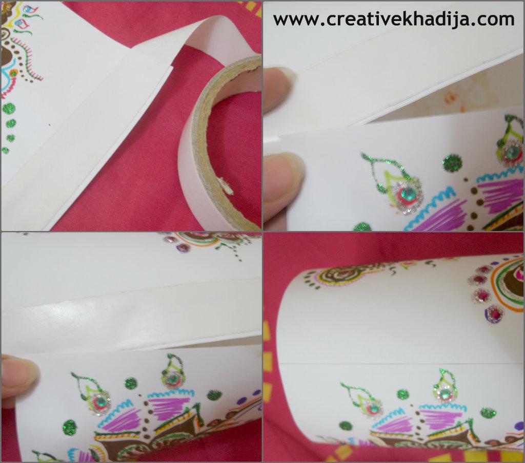 paper lantern tutorial Creative Khadija Blog - Arts, Crafts  for How To Make Round Paper Lanterns At Home  56bof