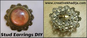 Stud Earrings DIY