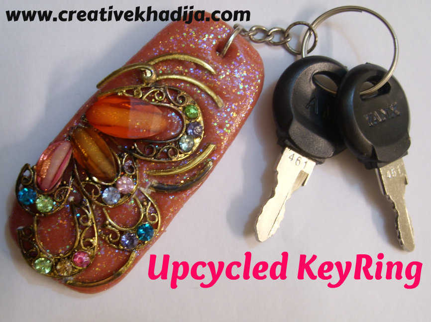 Clay keyring tutorial