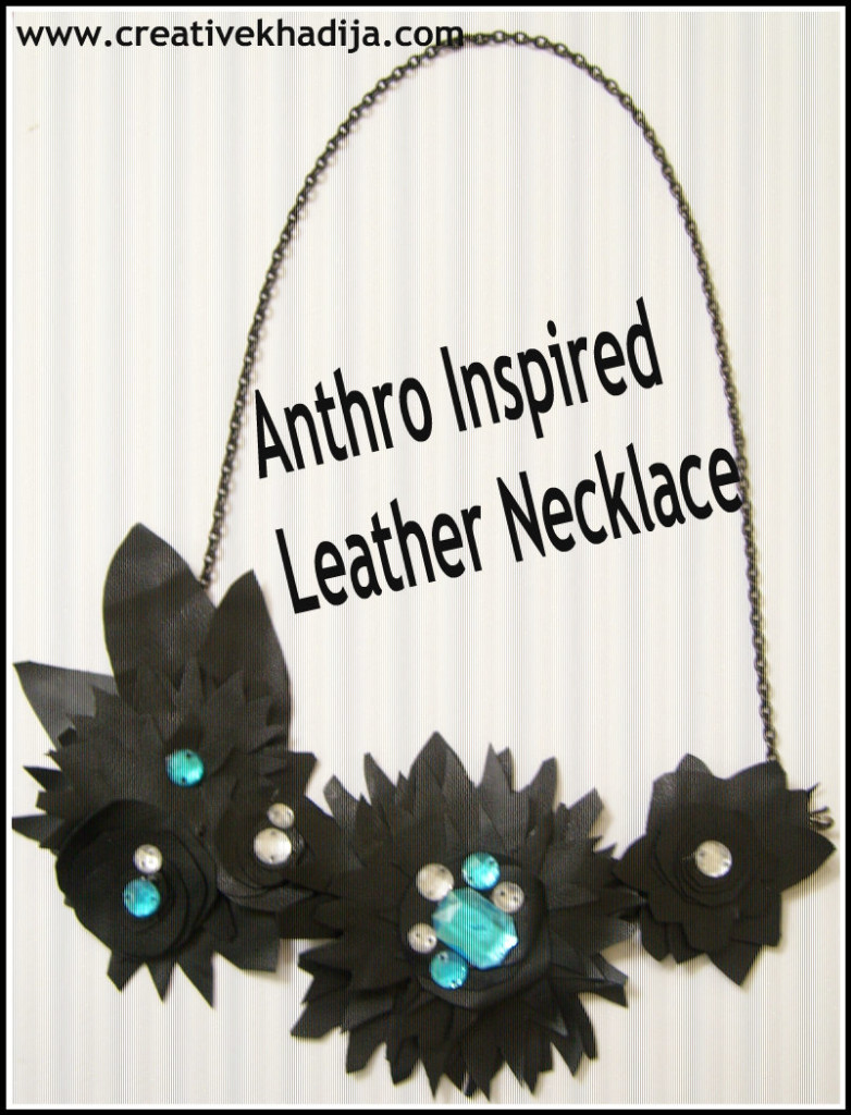anthro inspired necklace making