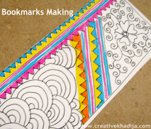bookmark making